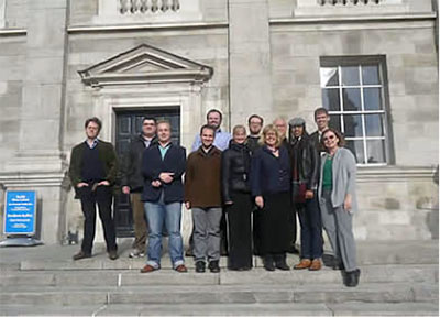 TCD and NU participants at Trinity College Dublin